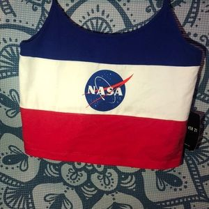This is a NASA  shirt from forever 21!!